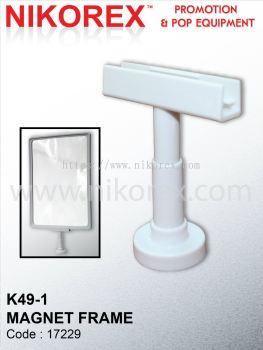 17229 - K49-1 MAGNET FRAME