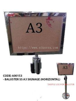 17130-A3 SIGN HOLDER FOR BALUSTER