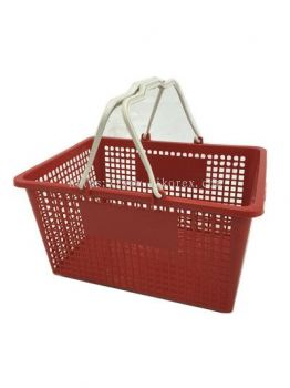 80070-0733 SHOPPING BASKET-RED