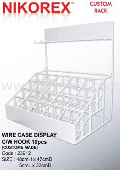 23912-WIRE CASE DISPLAY 48HX47.5LX32CMD C/W HOOK 10PCS
