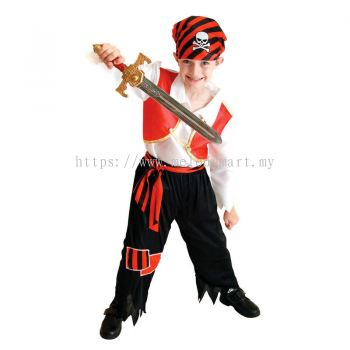 Naughty Pirate \ Kid Costume \ Halloween - 1011 1401