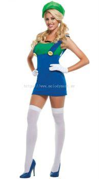 Super Mario Girl Green (1006 0102)