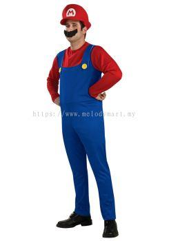 Super Mario Bros Adult Costume (1006 0101 16)