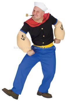 Popeye M0078 Adult (1006 0901 00)