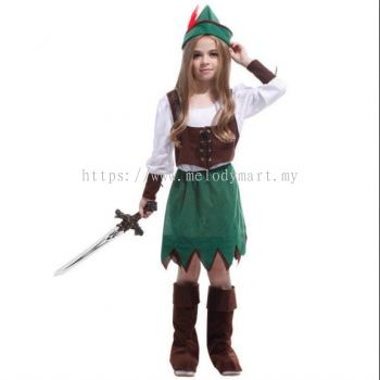 Peter Pan Girl Kids Costume (1006 0802)