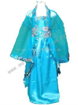 Chinese Kid Blue
