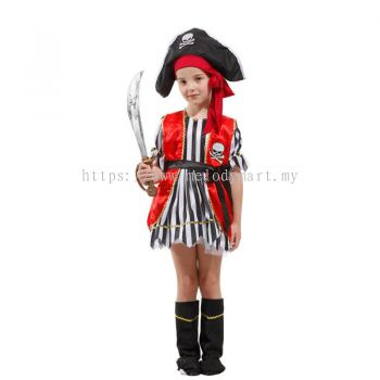 Pirate Red Vest -Kid