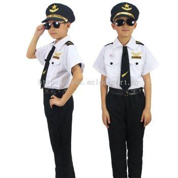 Pilot White Kid