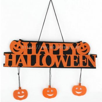 Halloween Sign Board 35CM- 7014 0701 01