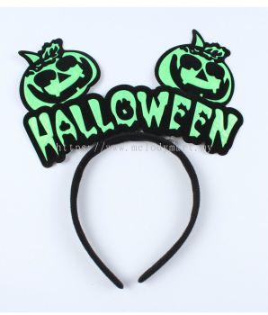 Halloween Hairband Green - 2330 5004 02