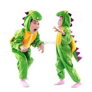 Kids dinosaur jumpsuit / pyjamas