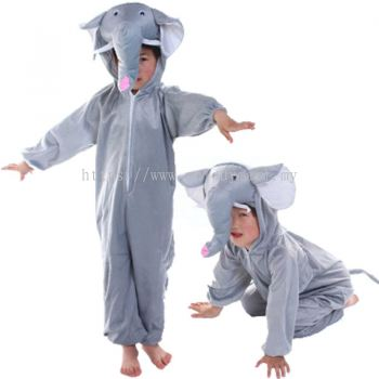 Kids elephant jumpsuit / pyjamas