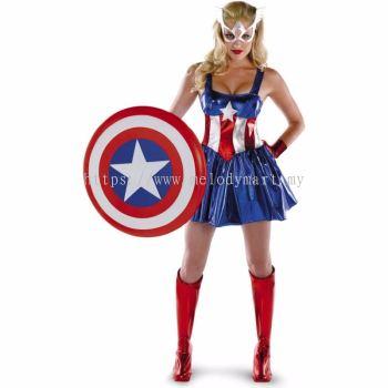 Captain America Female -1010 0303