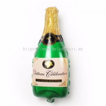 Foil 100*50 Champagne bottle