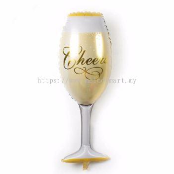 Foil 99*41 Champagne glass