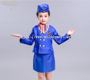 STEWARDESS KID BLUE