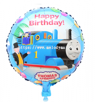 "Foil 18"" - Thomas happy birthday"