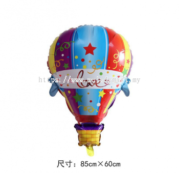Foil hot air balloon 60x89 cm