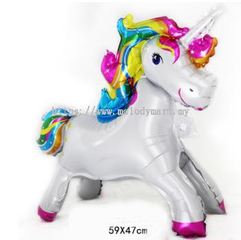 Unicorn horse 59x47cm