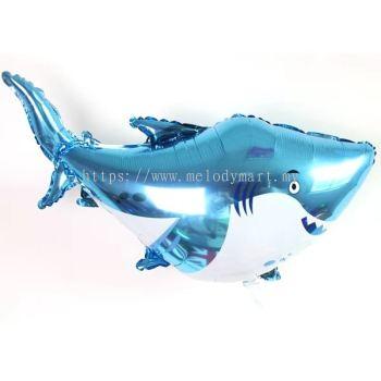 Foil baby shark 63x97cm