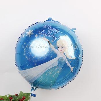 """Foil 18"""" Frozen Elsa"""