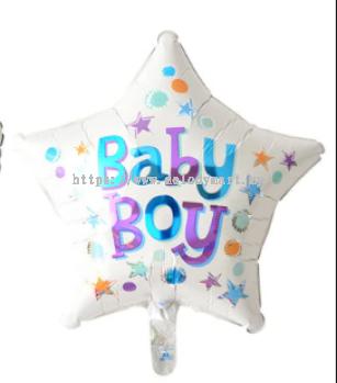 "Foil 18"" Baby Boy"