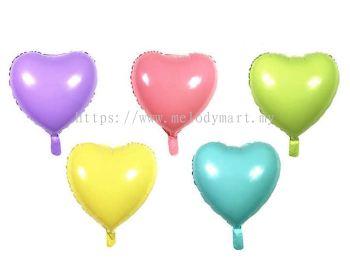 "Foil 18"" Macaron Heart"