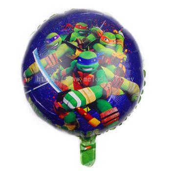 """Foil 18"""" Ninja Turtles Group"""