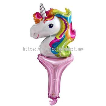 Unicorn Horse - cane 55X25cm