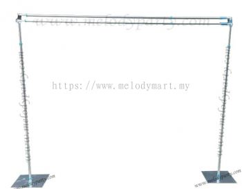 Double Layer Backdrop Stand - 3M