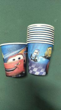 Paper Cup 10'S - Mcqueen car