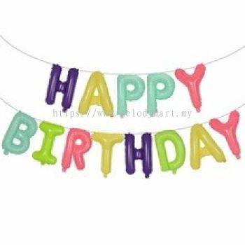 Happy Birthday Set - Macaron 5C