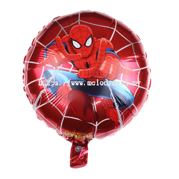 "Foil 18"" Spiderman Red - 2"