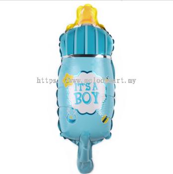 Foil Mini Milk bottle