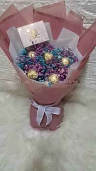 Valentine Flower chocolate