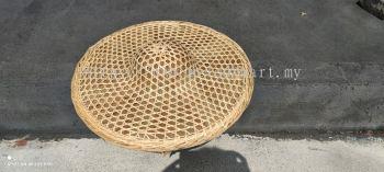 rain proof bamboo hat