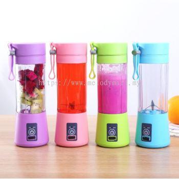 Fruit Blender USB Portable Electric Mesin Fruit Juicer Plastic Cup/����USB��֭��/����ˮ����/Juice Blender(4 blade)