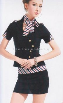 Stewardess S01 Black (1222 0202)
