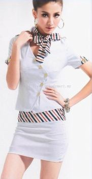 Stewardess S01 White (1222 0201)