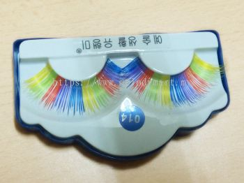 Styling Eyelahes - Colorful Eyelashes