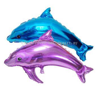 Foil Balloon Dolphin
