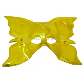 Half Mask/Butterfly Mask/Gold