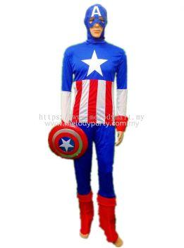 Captain America Adult Costume - 1010 0302 01