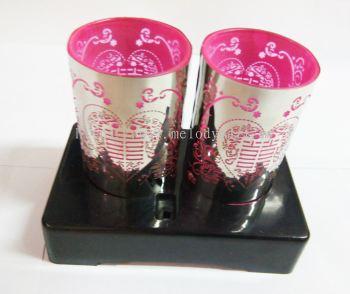 Wedding Bedside Lamp Pink