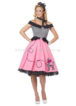 Retro 1950's Dress - 5022