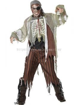 Adult Costume \ Zombie Shipmate