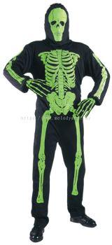 Green Skeleton Costume