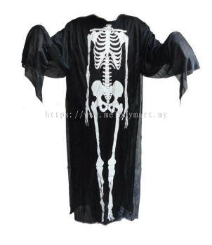Halloween \ Skeleton Ghost Costume \ 120cm Adult