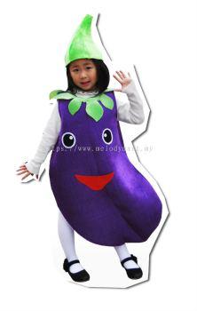 Kid Performance Costume \  Eggplant