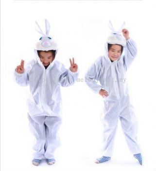 Kids rabbit jumpsuit / pyjamas